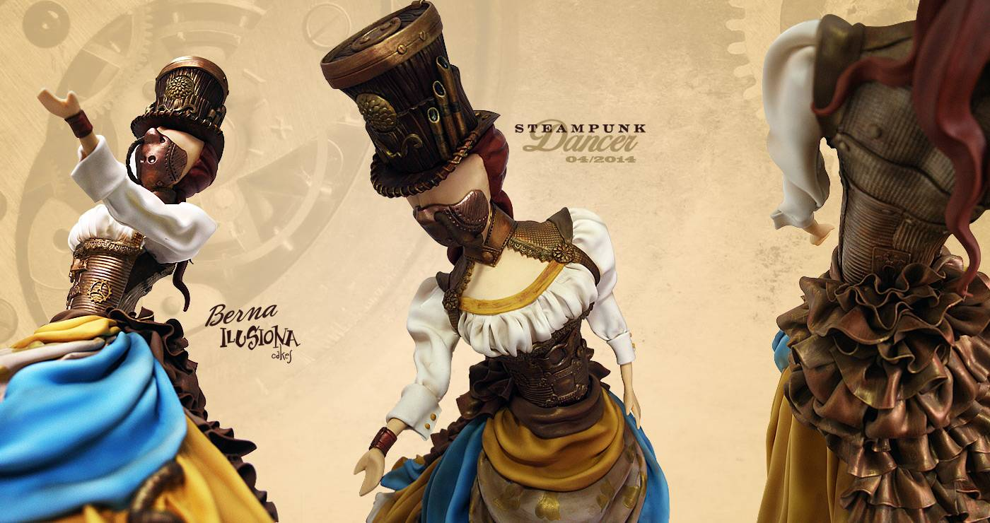 Steampunk Dancer - Expotarta 2014